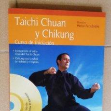 Libros: LIBRO CON DVD TAICHI CHUAN Y CHIKUNG. Lote 221734197