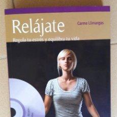 "Libros: LIBRO + DVD ""RELÁJATE"" DE LLIMARGAS, CARMEN. Lote 221734260"
