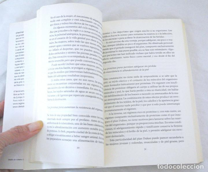 Libros: LIBRO NO CONSIGO ADELGAZAR, Dr. Pierre Dukan, INTEGRAL, 2011, ISBN 978-84-92981-04-5 DIETAS - Foto 3 - 221773565