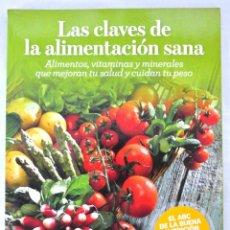 Libros: LIBRO LAS CLAVES DE LA ALIMENTACION SANA, RBA, 2010. Lote 221778360