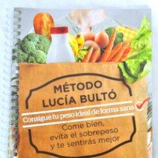Libros: LIBRO METODO LUCIA BULTÓ, SEMANA 3: OVOLÁCTEA VEGETARIANA, QPRINT, 2014, ISBN 978-84-616-8838-8. Lote 221799025