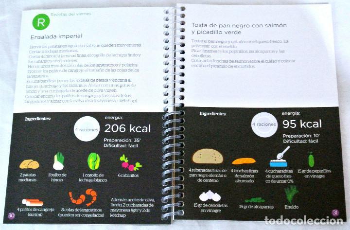 Libros: LIBRO MÉTODO LUCÍA BULTÓ, SEMANA 4: DIETA DEL ANIMO, QPRINT, 2014, NUEVO, ISBN 978-84-616-8854-8 - Foto 3 - 221799498
