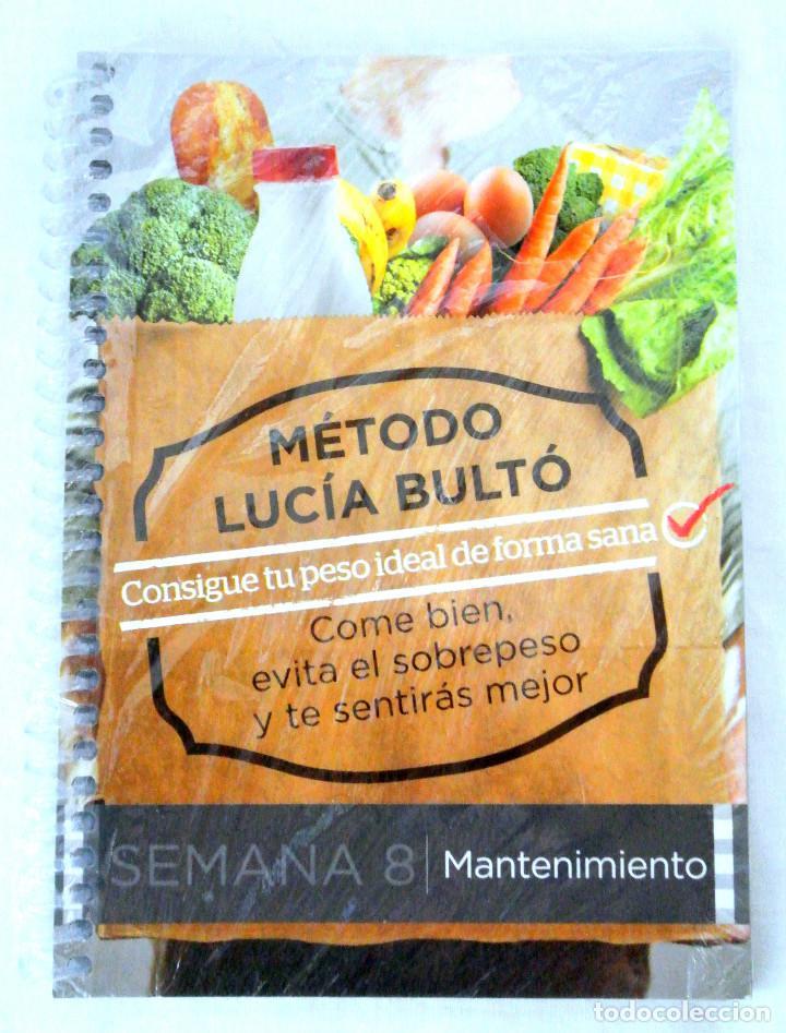 LIBRO MÉTODO LUCÍA BULTÓ, SEMANA 8: MANTENIMIENTO , QPRINT, 2014, NUEVO PRECINTADO (Libros Nuevos - Ocio - Salud y Dietas)
