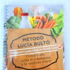 Libros: LIBRO MÉTODO LUCÍA BULTÓ, SEMANA 6: MEDITERRANEA , QPRINT, 2014, NUEVO PRECINTADO. Lote 221800427