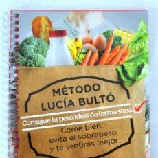 Libros: LIBRO MÉTODO LUCÍA BULTÓ, SEMANA 5: 30/30/30, QPRINT, 2014, NUEVO PRECINTADO, ISBN 978-84-616-8882-1. Lote 221800892