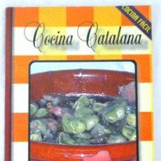 Libros: LIBRO COCINA CATALANA, COCINA FÁCIL, VILAFRANCA, 2002, ISBN 84-96032-10-8. Lote 221802365