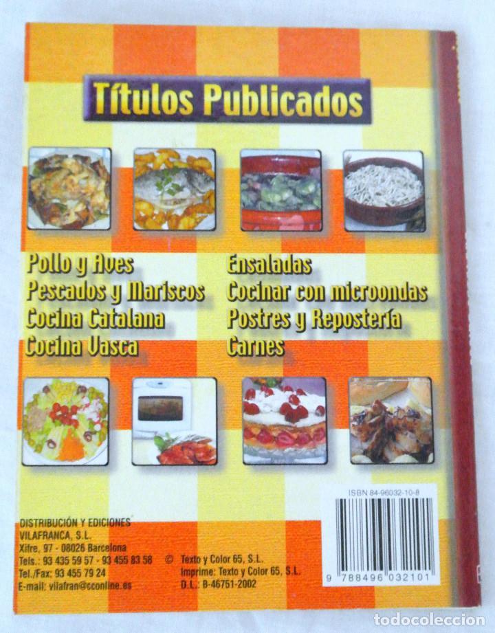 Libros: LIBRO COCINA CATALANA, COCINA FÁCIL, VILAFRANCA, 2002, ISBN 84-96032-10-8 - Foto 3 - 221802365