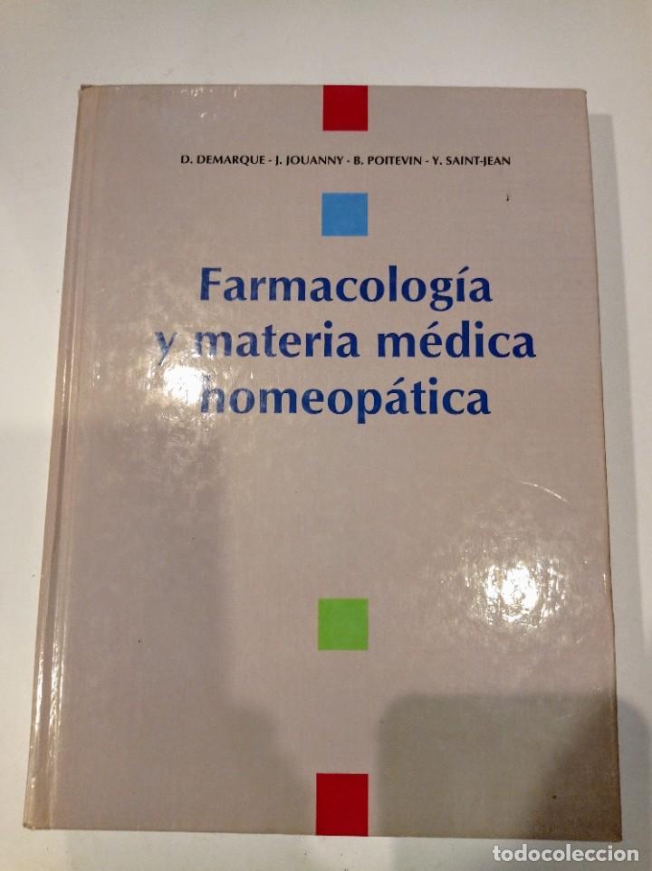 Libros: 3 vols. Homeopatía - Terapéutica homeopática (2 vol) y farmacología y materia médica (1 vol) - Foto 3 - 222642137