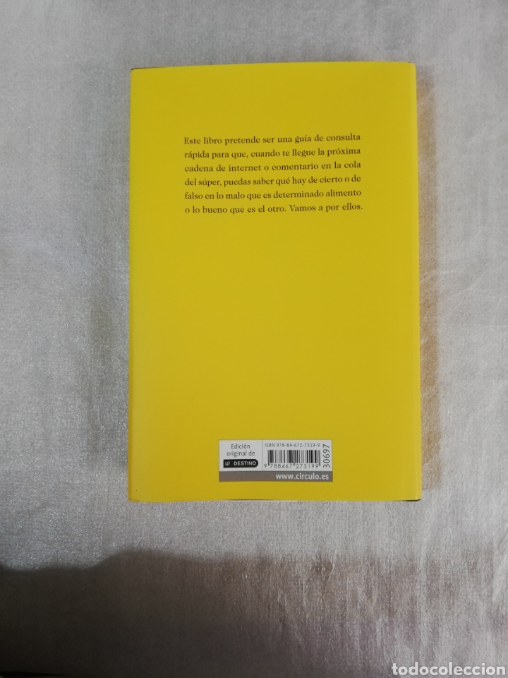 Libros: Libro ¿Que es comer sano? de J. M. Mulet. - Foto 2 - 223244472