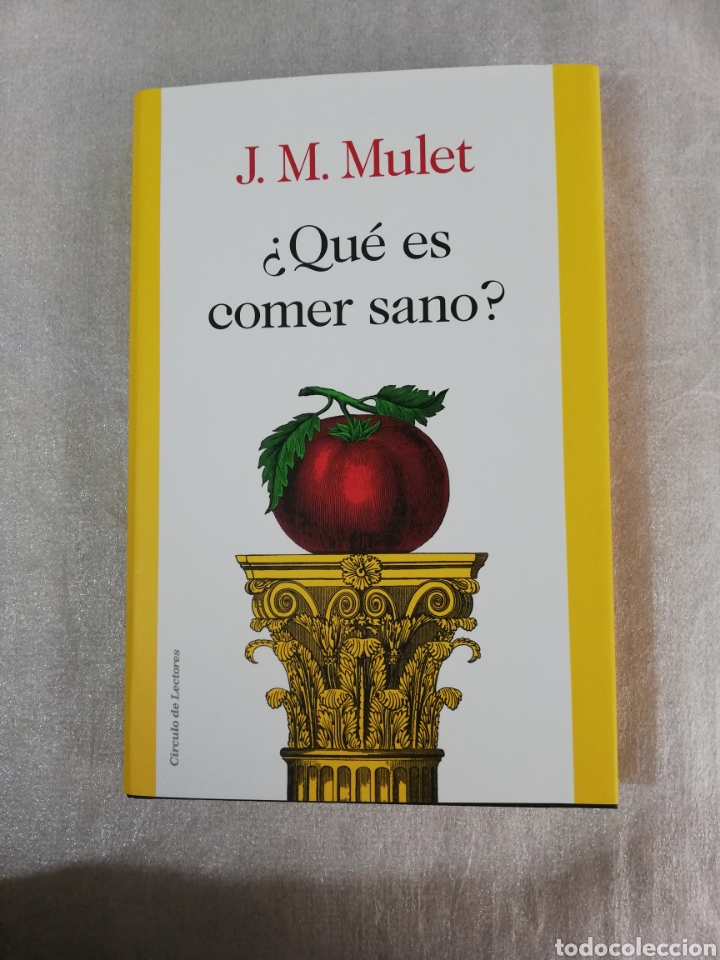 LIBRO ¿QUE ES COMER SANO? DE J. M. MULET. (Libros Nuevos - Ocio - Salud y Dietas)
