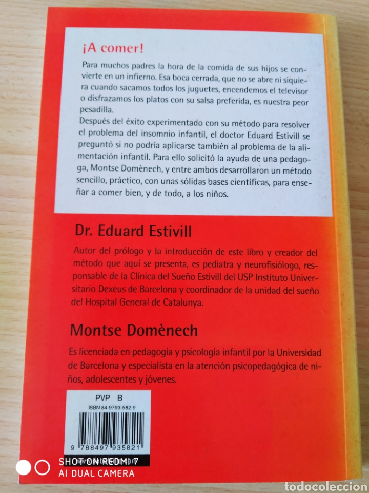Libros: ¡ A comer! Método Estivill para enseñar a comer. Nuevo - Foto 3 - 267613214