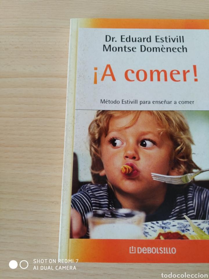 Libros: ¡ A comer! Método Estivill para enseñar a comer. Nuevo - Foto 5 - 267613214