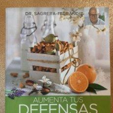 Libros: AUMENTA TUS DEFENSAS DOCTOR SAGRERA - NUEVO. Lote 229317925