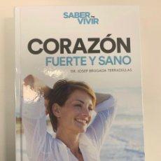 Libros: CORAZÓN SANO Y FUERTE - NUEVO - RBA. Lote 241476505