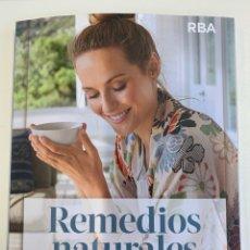 Libros: REMEDIOS NATURALES - LIBRO NUEVO. Lote 241483160