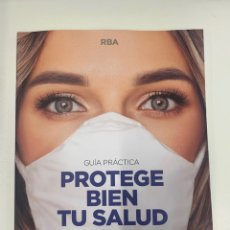 Libros: GUÍA COVID , MASCARILLAS , PROTECCIÓN. Lote 241488570