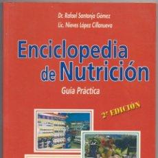 Libros: ENCICLOPEDIA DE LA NUTRICION. Lote 243477560