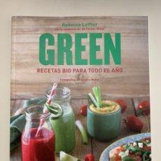 Libros: LIBRO SALUD - GREEN RECETAS BIO PARA TODO EL AÑO. Lote 244186165