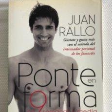 Libros: PONTE EN FORMA EN 9 SEMANAS Y MEDIA. Lote 244706665