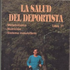Libros: LIBRO LA SALUD DEL DEPORTISTA COMITE OLIMPICO ESPAÑOL. Lote 253027170