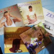 Libros: ¡¡¡ NUEVOS A ESTRENAR.!!! COLECCIÓN 5 LIBROS. VIDA Y SALUD. CLUB INTERNACIONAL DEL LIBRO.. Lote 257736305