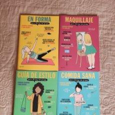Libros: LIBROS PARA CHICAS CON PRISAS. Lote 260732915