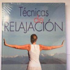 Libros: TECNICAS DE RELAJACIÓN. Lote 261161890