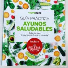 Livres: GUÍA PRÁCTICA AYUNOS SALUDABLES Y DIETAS DETOX. Lote 265475924