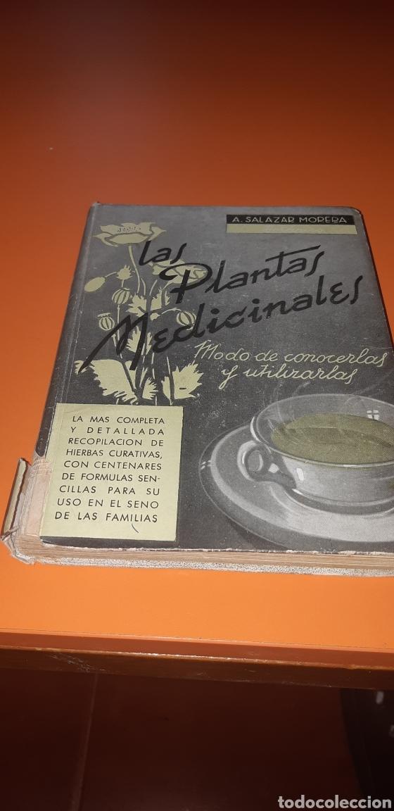 LIBRO PLANTAS MEDICINALES AÑO 1940 (Libros Nuevos - Ocio - Salud y Dietas)