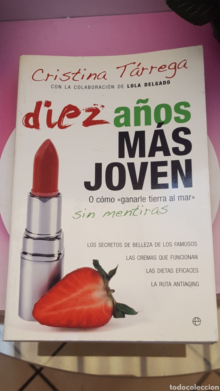 LIBRO DE CRISTINA TARREGA (Libros Nuevos - Ocio - Salud y Dietas)