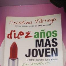 Libros: LIBRO DE CRISTINA TARREGA. Lote 271989778