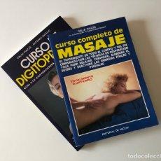 Libros: DOS CURSOS: MASAJE Y DIGITOPRESIÓN. Lote 273333713