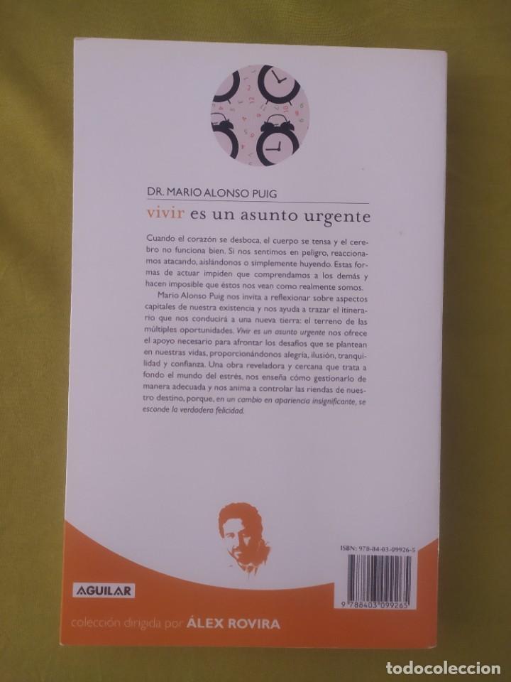 Libros: Vivir es un asunto urgente - Foto 2 - 284652368