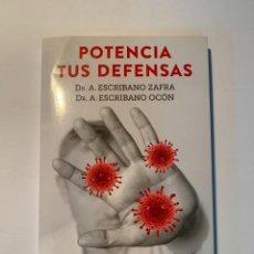 Libros: SALUD POTENCIA TUS DEFENSAS GUÍA PARA PREVENIR ENFERMEDADES - NUEVO. Lote 287978733