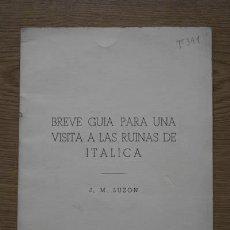 Libros de segunda mano - Breve guía para una visita a las ruinas de Itálica. Luzón (J.M.) - 17779248