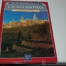 Libros de segunda mano: LA ATLÁNTIDA. MITOS, DIOSES. MISTERIOS. Lote 26694604