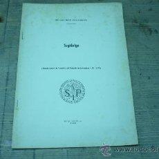 Libros de segunda mano: ARQUEOLOGIA-SEGÓBRIGA-ARCHIVO DE PREHISTORIA LEVANTINA. Lote 22697168