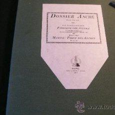 Livros em segunda mão: DOSSIER ANCRE: FABRIQUE DES ANCRES (REAUMUR) MARINE: FORGE DES ANCRES. Lote 23512103