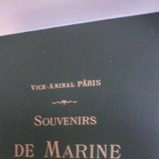 Libros de segunda mano: SOUVENIRS DE MARINE VICE-AMIRAL PÂRIS 6 TOMOS 58X46 CM (ARQUITECTURA Y ARQUEOLOGÍA NAVAL). Lote 23779257