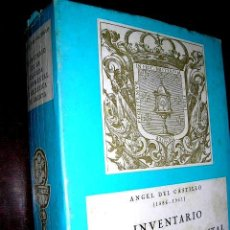 Libros de segunda mano: INVENTARIO DE LA RIQUEZA MONUMENTAL Y ARTÍSTICA DE GALICIA.ÁNGEL DEL CASTILLO PG:715+188.IMPORTANTE. Lote 53501165