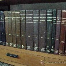 Libri di seconda mano: ARCHIVO ESPAÑOL DE ARQUEOLOGIA REVISTA 1940 (Nº.40) A 1984 (Nº.150). 34 TOMOS. Lote 32126000