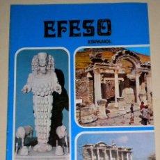 Libros de segunda mano: EFESO - ( IZMIA - BERGAMA - PRIENE - MILET - DIDIM - KUSADASI ) - LIBRETO EN ESPAÑOL . Lote 32126793