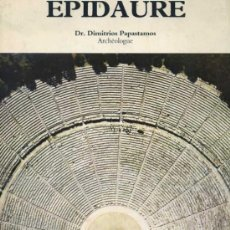 Libros de segunda mano: EPIDAURO -EN INGLÉS. Lote 32583087
