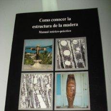 Libros de segunda mano: CONSERVACIÓN Y RESTAURACIÓN PATRIMONIO HISTÓRICO VALENCIANO COMO CONOCER ESTRUCTURA MADERA .1997. Lote 35017976