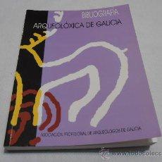 Libros de segunda mano: ARQUEOLOXIA DE GALICIA, BIBLIOGRAFIA. Lote 35722970