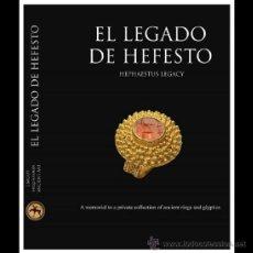 Libros de segunda mano: LIBRO ARQUEOLOGIA ANILLO-ORO-PLATA-GRIEGO,ROMANO,IBERICO-DENARIO-AS-TETRADRACMA,SESTERCIO-DUPONDIO. Lote 39791664