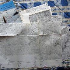 Libros de segunda mano: CARTA ARQUEOLOGICA DE GUIPUZCOA + CARPETA CON MAPAS.. Lote 37491105