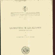 Libros de segunda mano: FLETCHER, PLA, ALCACER ,, LA BASTIDA DE LES ALCUSES MOGENTE, 2 VOLS ...NINC. Lote 38037077