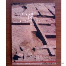 Libros de segunda mano: LA VILLA DE CORNELIUS (L'ÈNOVA, VALENCIA). ROSA ALBIACH Y J. L. DE MADARIA. Lote 38109525