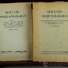 Libros de segunda mano: 3692- BOLETIN ARQUEOLOGICO. VV.AA. SOCIEDAD ARQUEOLOGICA TARRACONENSE. 1951/1975. 5 VOL. . Lote 38954007